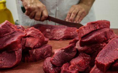 Vlees versnijden