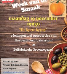 Gemeente Zandhoven laat je proeven van lokale producten