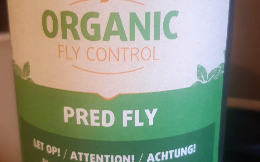 Onze vliegenbestrijding voortaan biologisch